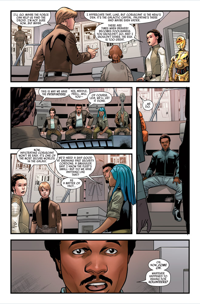 Star Wars #9 preview page 5