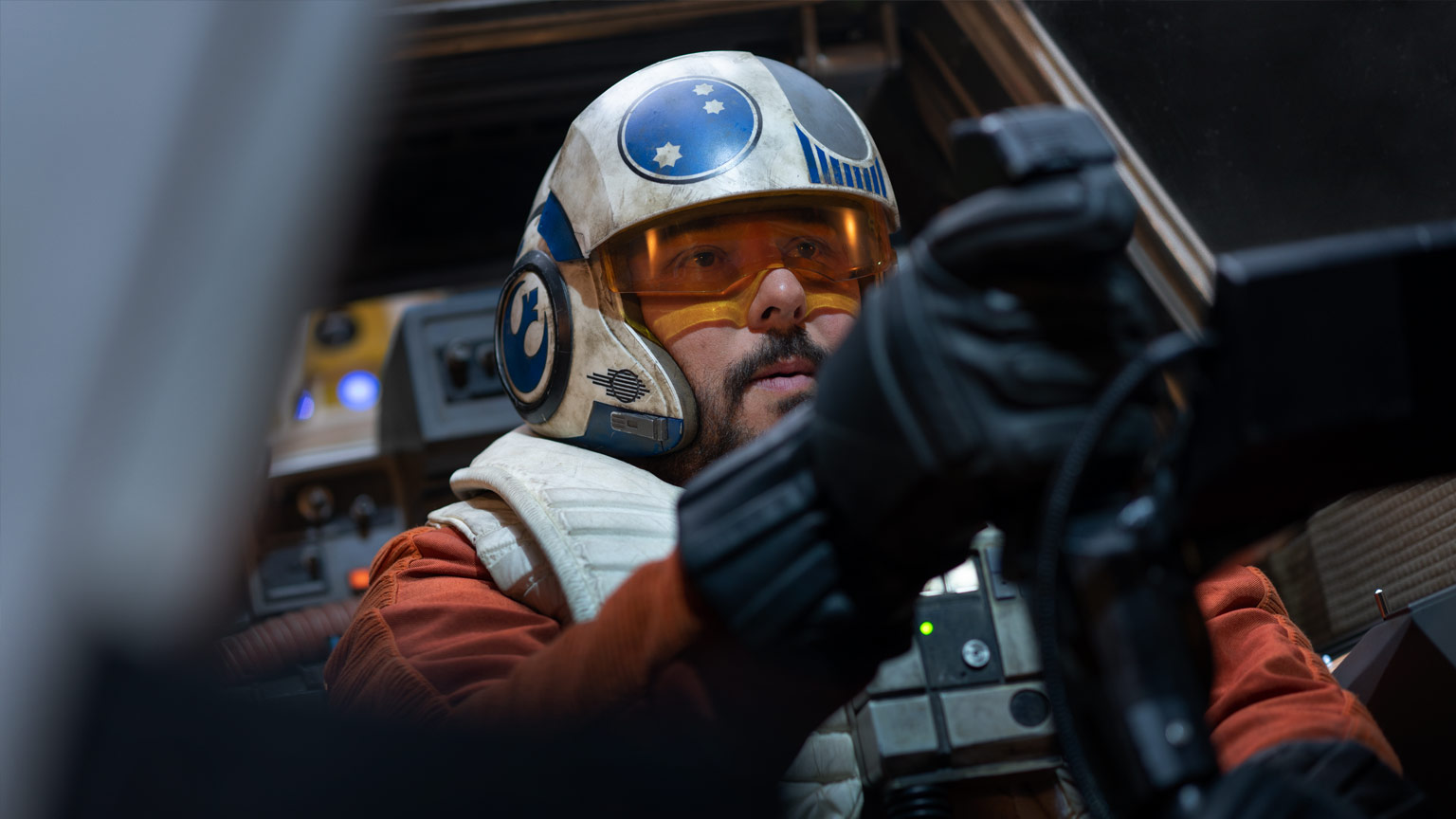 Snap Wexley in Star Wars: The Rise of Skywalker