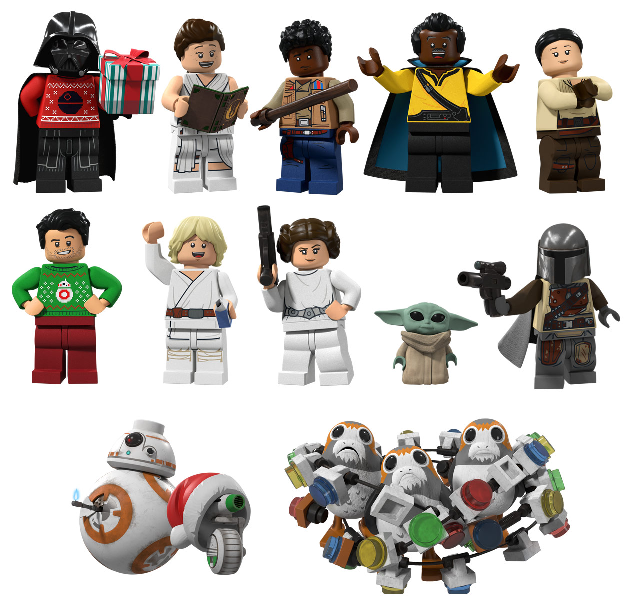 LEGO Star Wars Holiday Special stickers