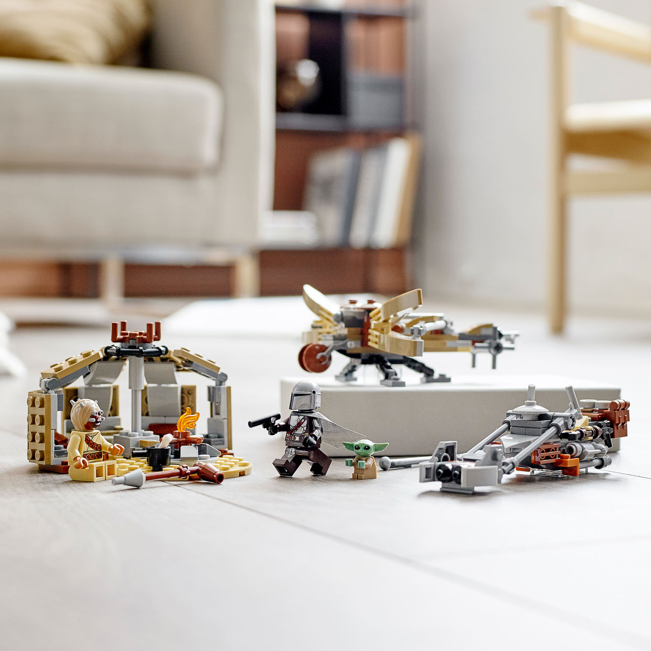 The Trouble on Tatooine Building Set by The LEGO Group