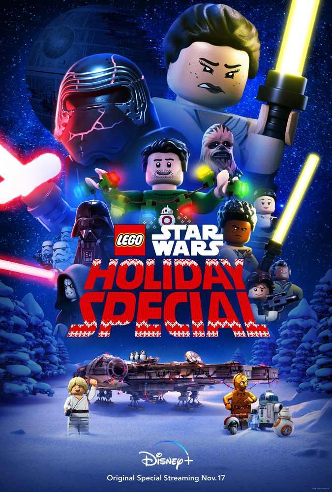 Watch the Bricktastic New Trailer for Disney+'s The LEGO Star Wars Holiday  Special | StarWars.com