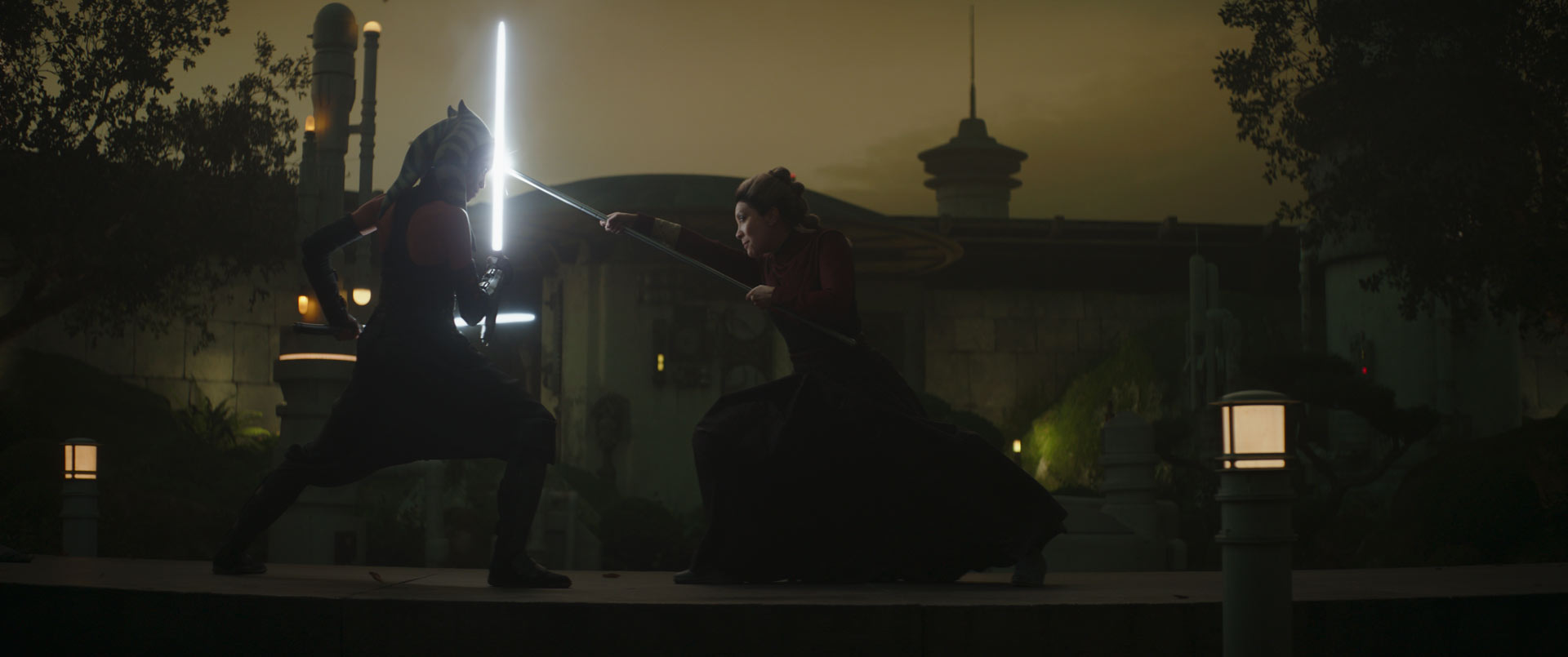 Ahsoka battles the Magistrate