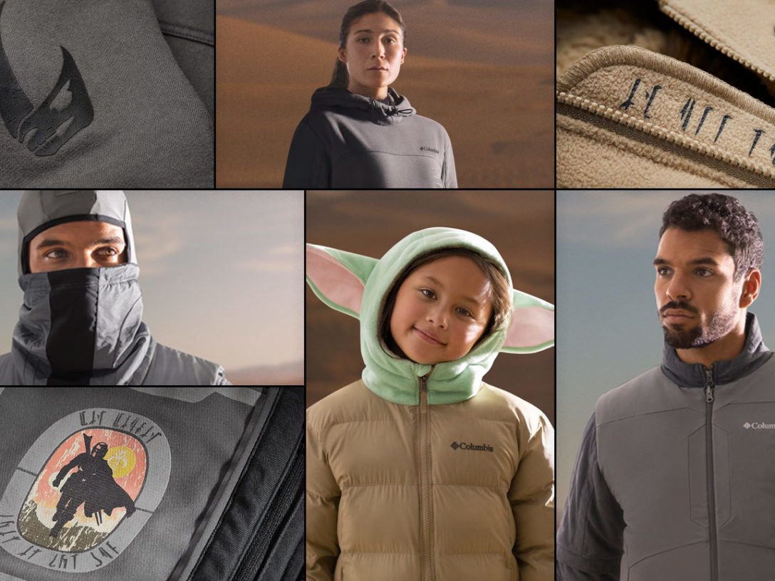Columbia's New Star Wars Collection Inspired by The Mandalorian