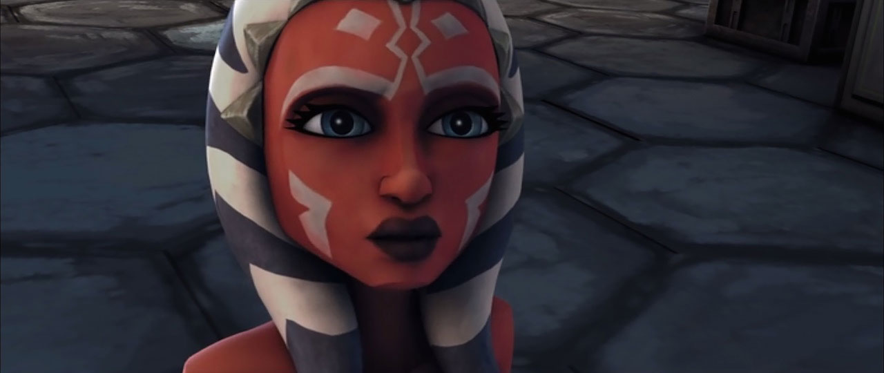 Ahsoka in The Clone Wars movie