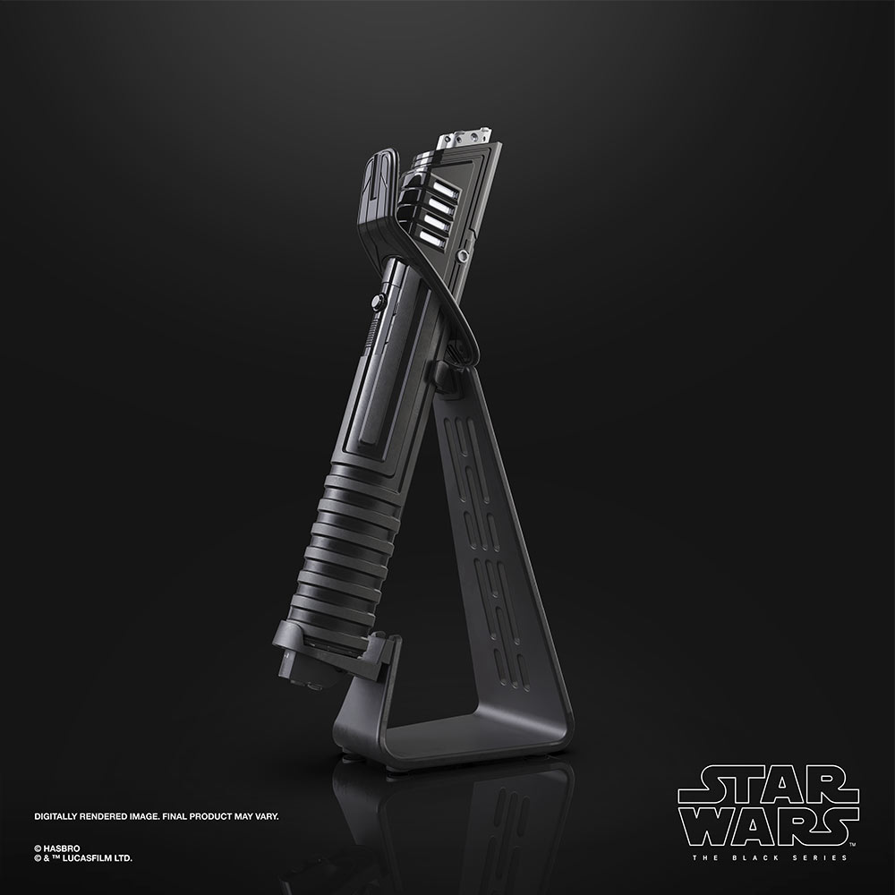 Hasbro's Force FX Elite Darksaber hilt