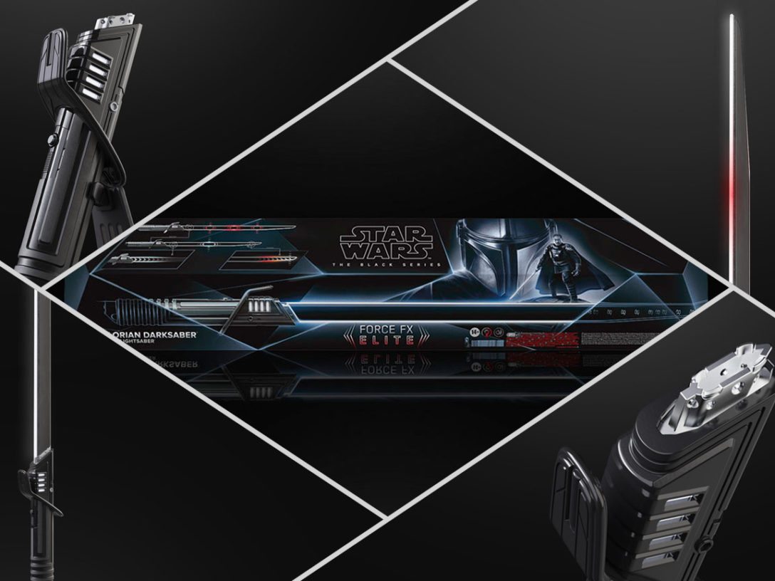 Hasbro's Force FX Elite Darksaber