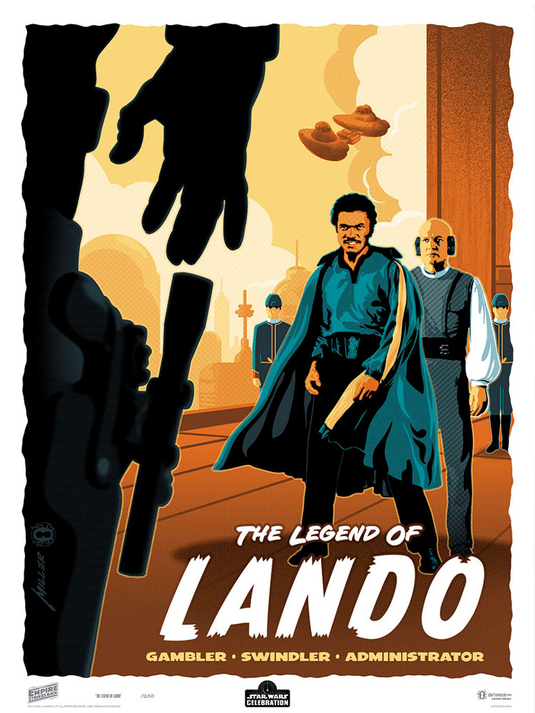 Star Wars Celebration Art Show: The Legend of Lando