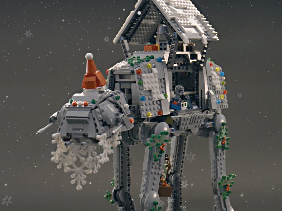 LEGO Star Wars Holiday Contest AT-AT
