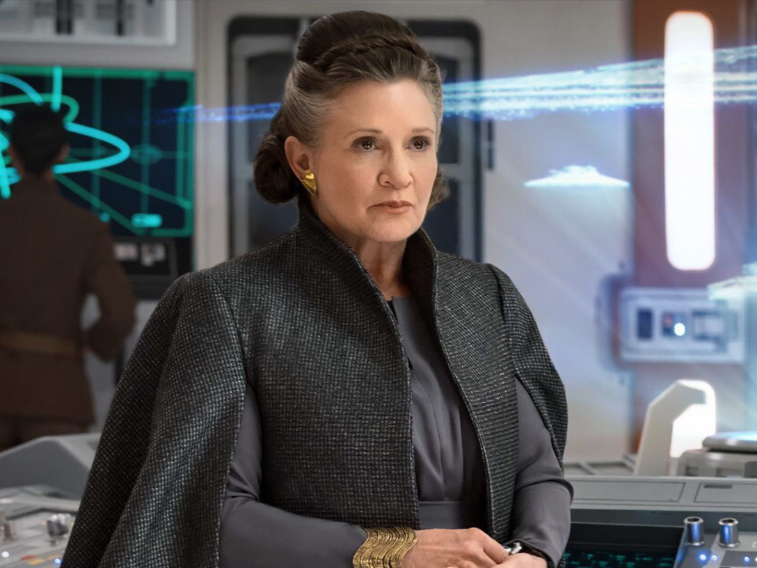 Leia in The Last Jedi