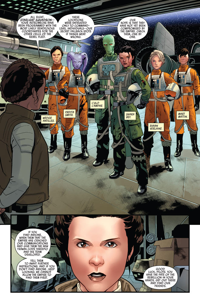 Star Wars #10 preview 1