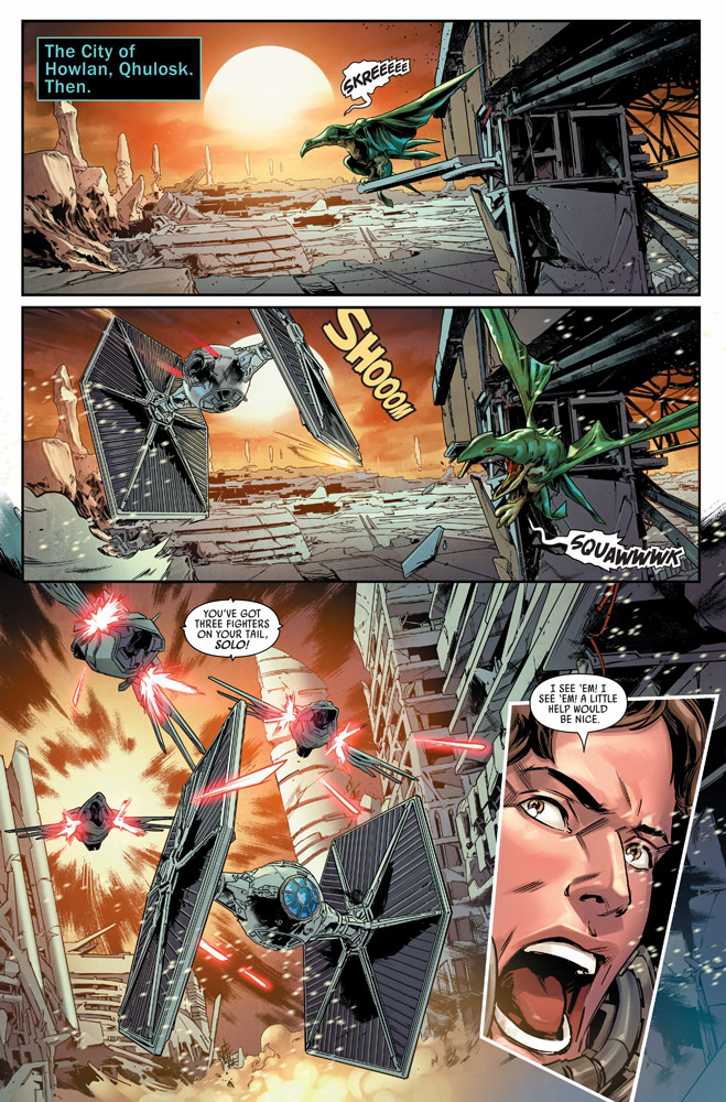 Bounty Hunters #8 preview 1