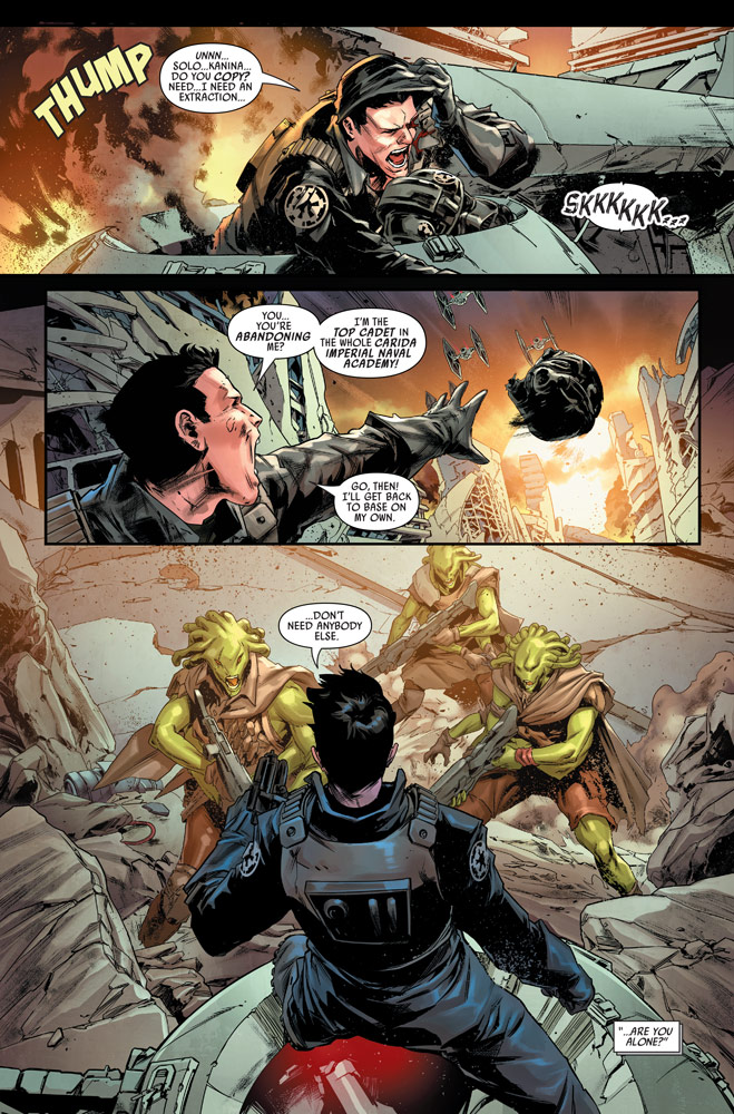 Bounty Hunters #8 preview 4