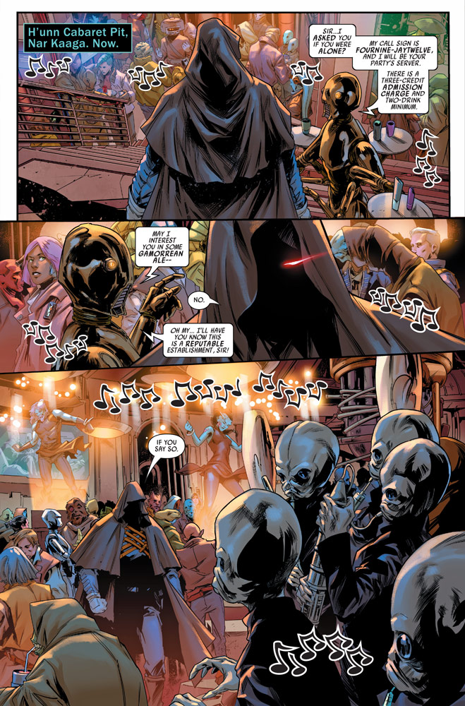 Bounty Hunters #8 preview 5