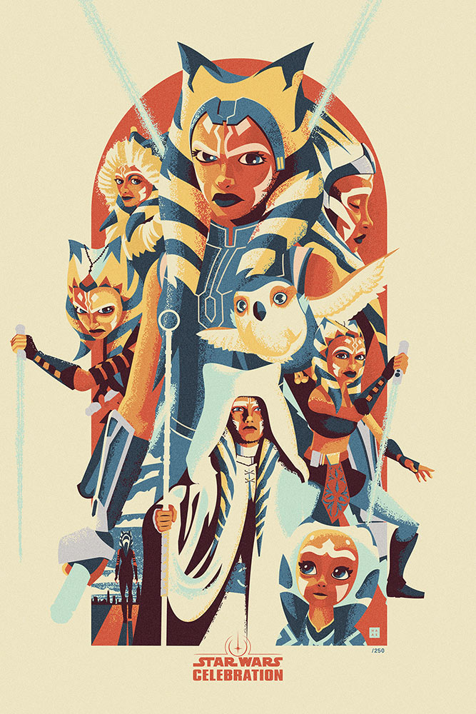 Star Wars Celebration 2020 Art Show: Ahsoka