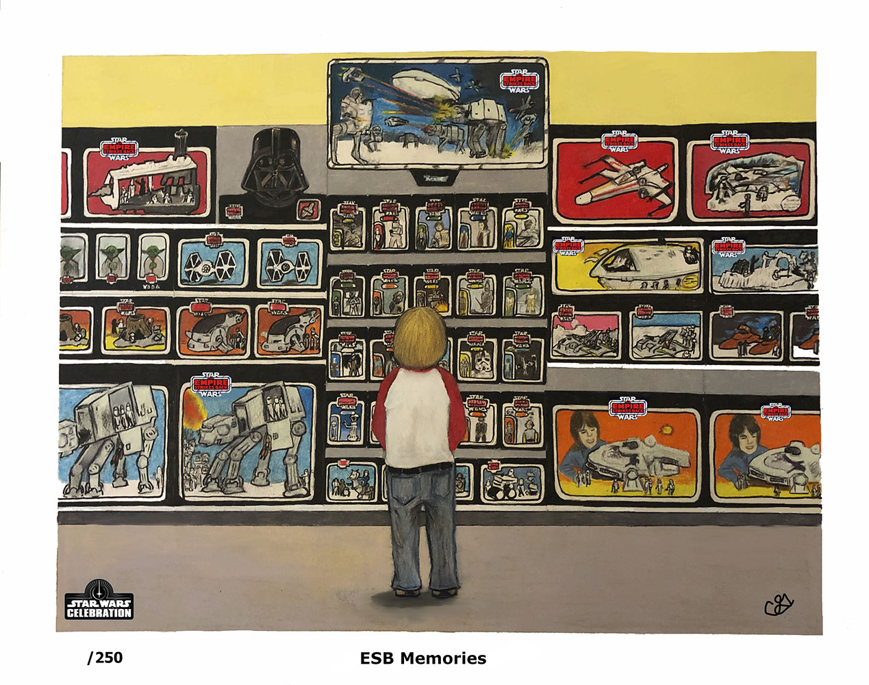 Star Wars Celebration 2020 Art Show: ESB Memories