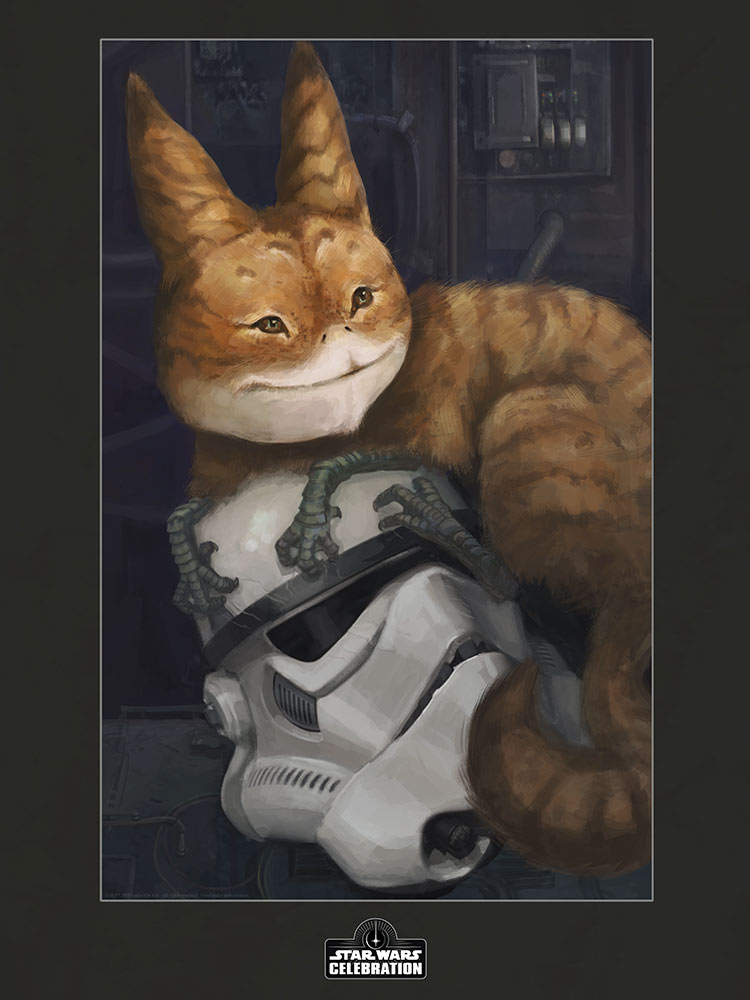 Star Wars Celebration 2020 Art Show: Furball