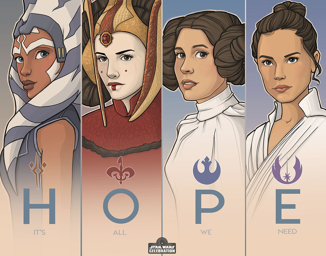 Star Wars Celebration 2020 Art Show: Hope