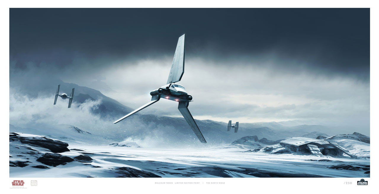 Star Wars Celebration 2020 Art Show: The North Ridge