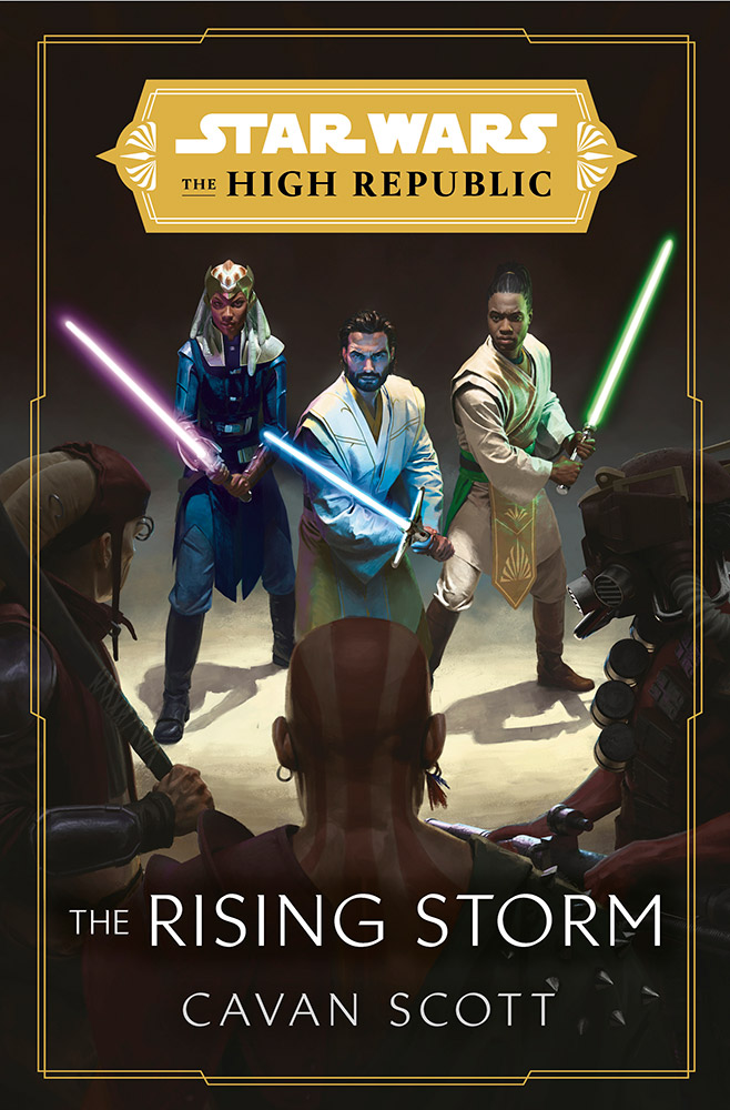 Star Wars: The High Republic: The Rising Storm cover.