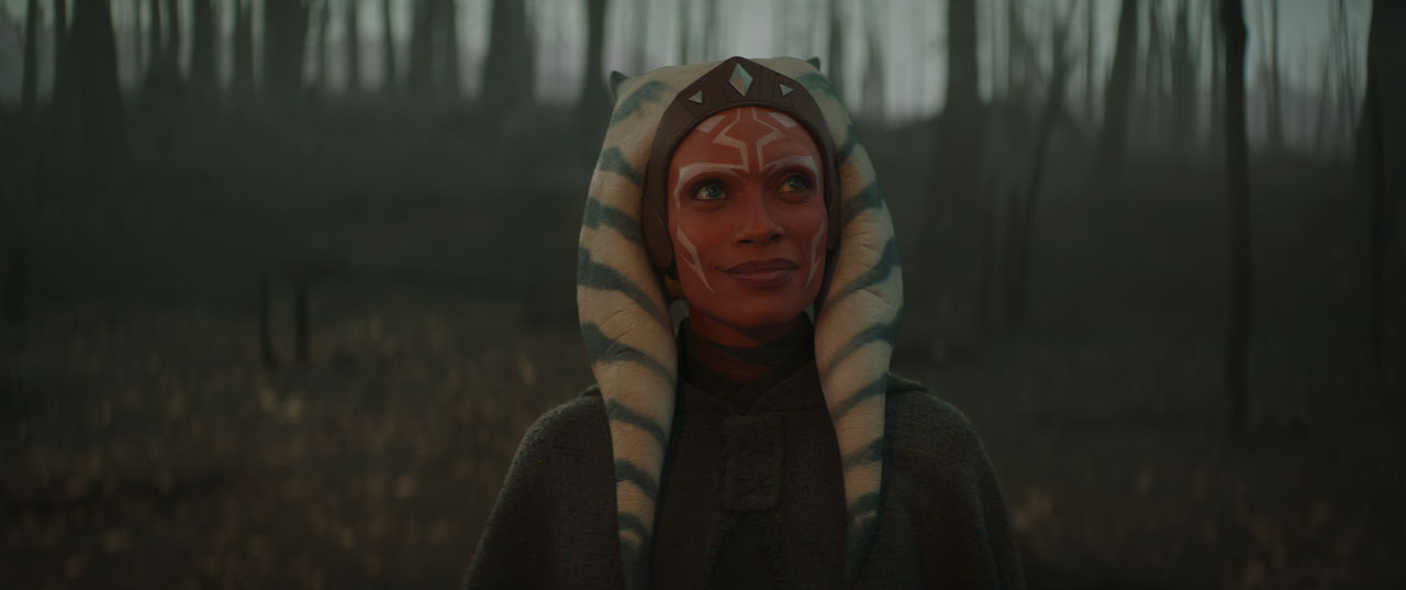 Ahsoka Tano in The Mandalorian
