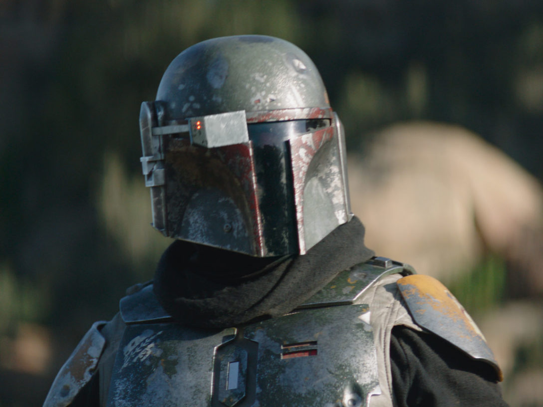 "A scene from The Mandalorian ""Chapter 14: The Tragedy"""