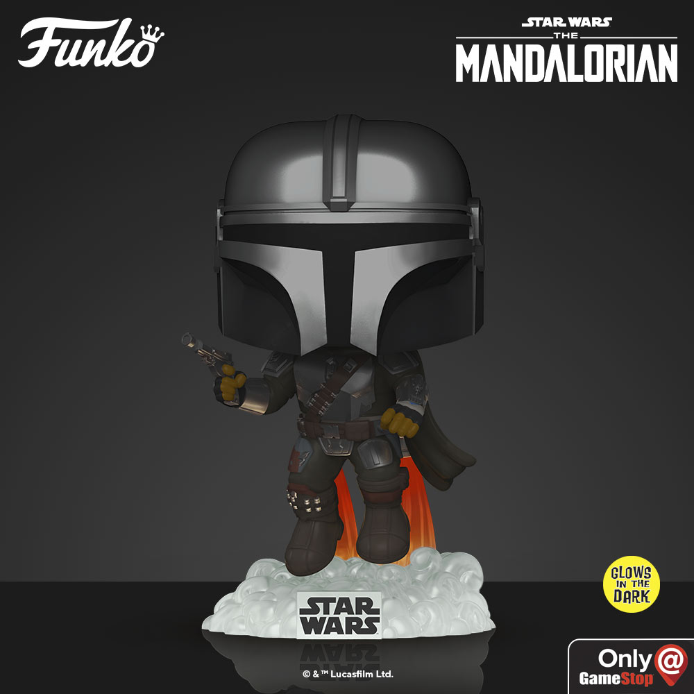 The Mandalorian Pop! Bobbleheads by Funko