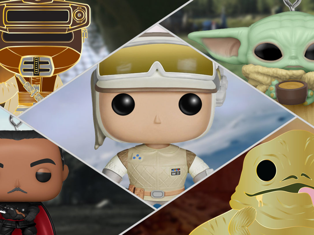 Star Wars Funko Fair products