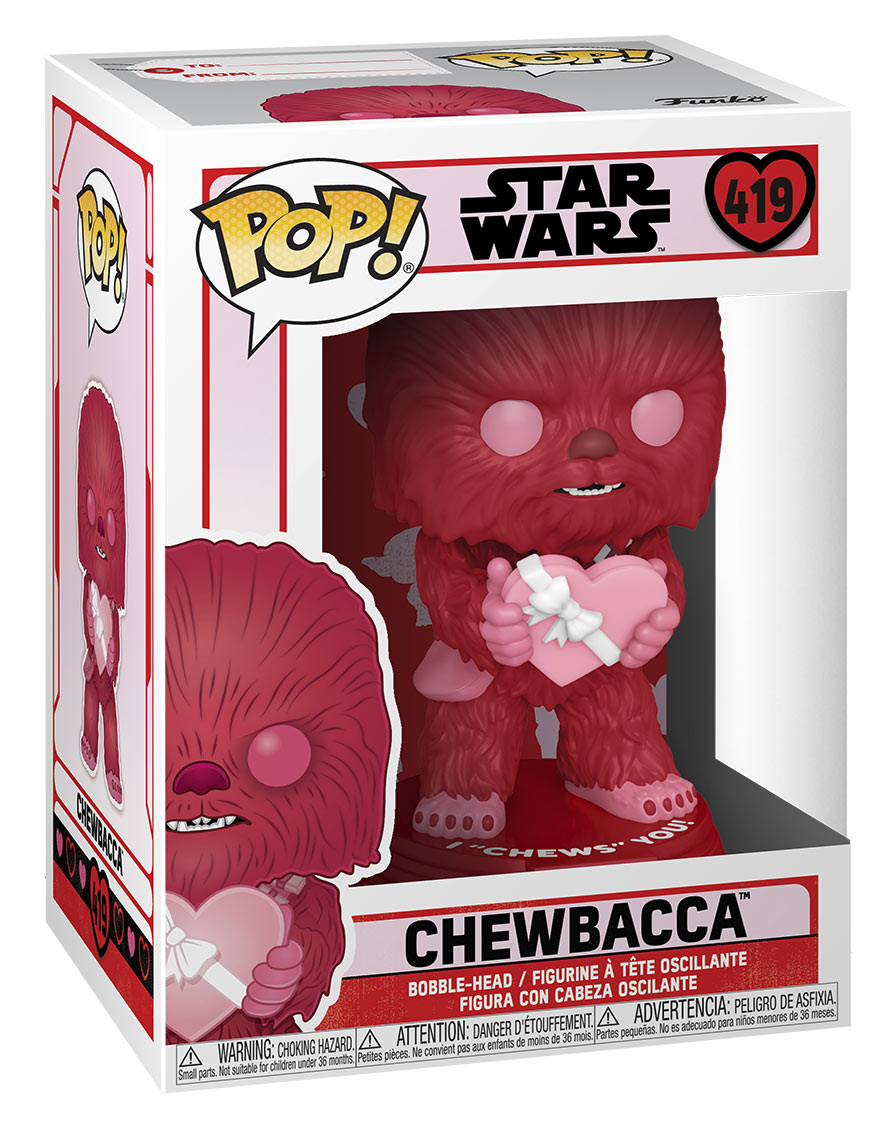Funko Pop! Star Wars Valentine's Day - Chewbacca