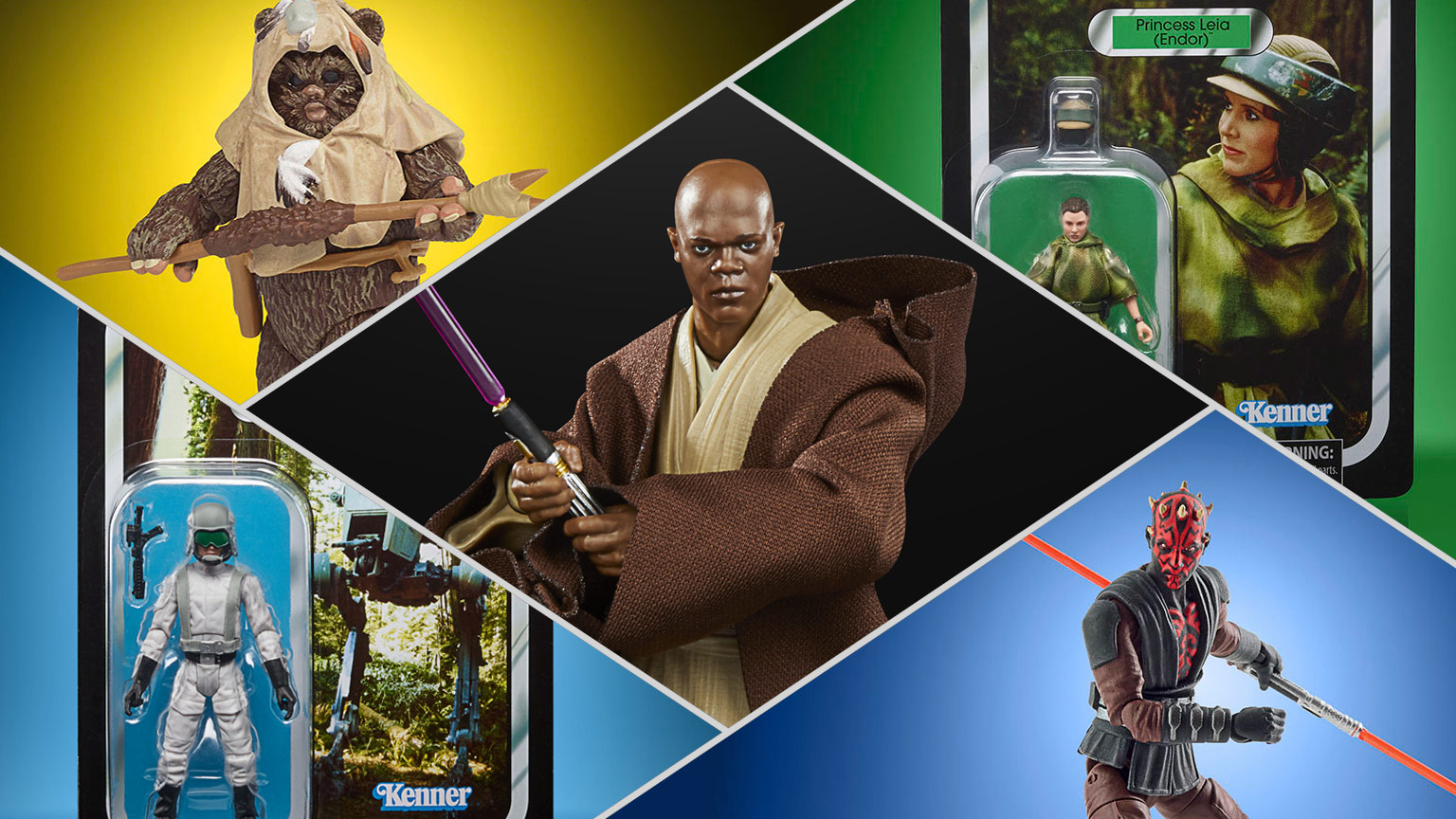 """Hasbro Lucasfilm """"First 50 Years"""" Products"""