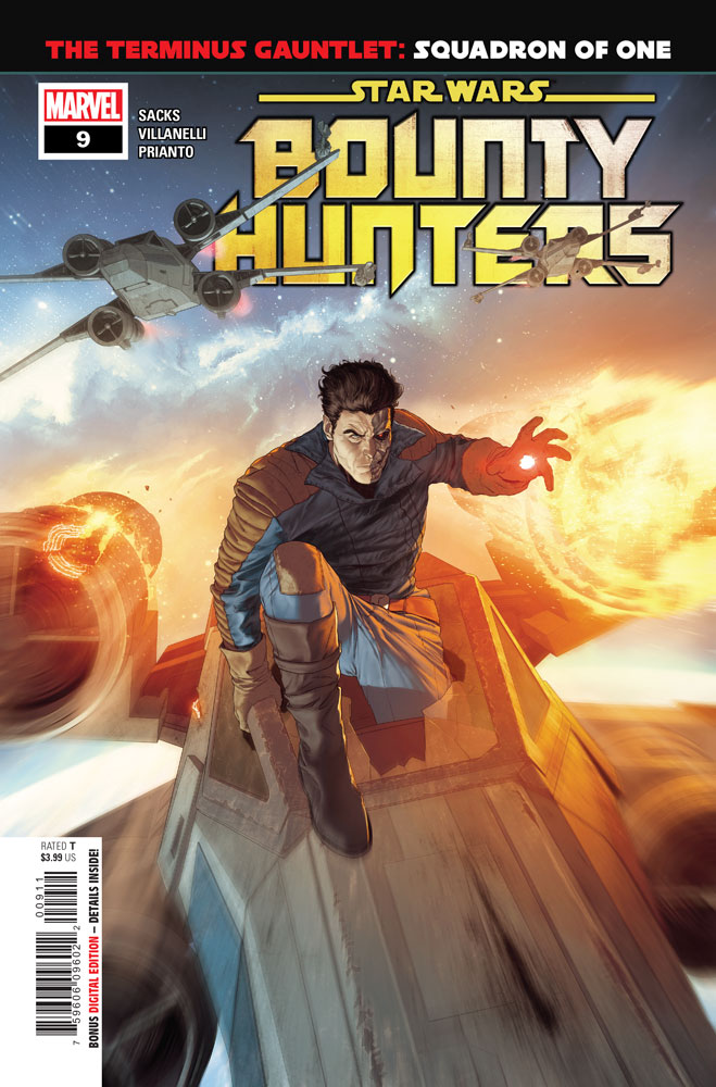 Bounty Hunters #9 preview 1