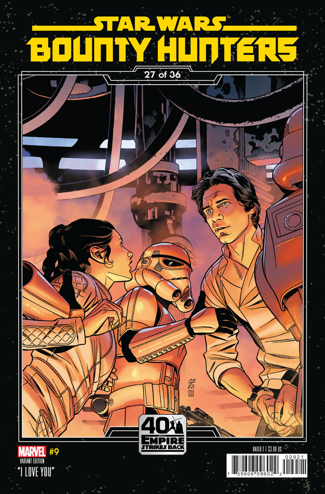 Bounty Hunters #9 preview 2