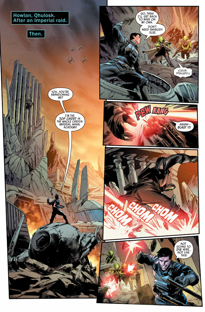 Bounty Hunters #9 preview 3