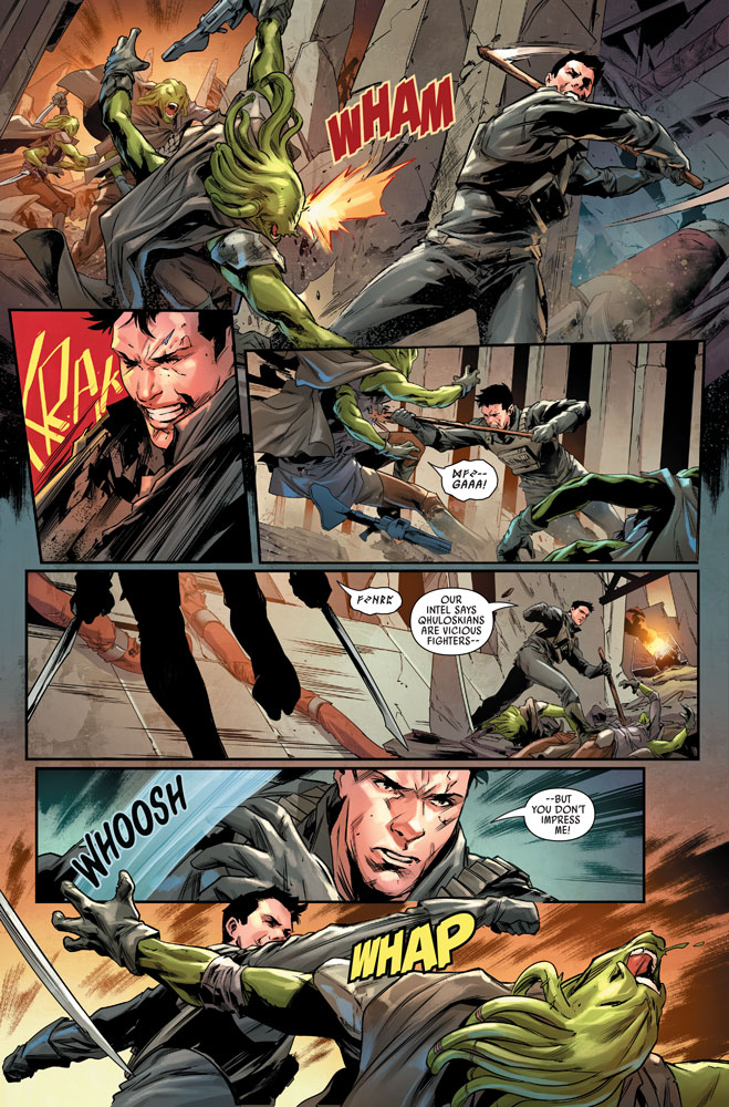 Bounty Hunters #9 preview 4