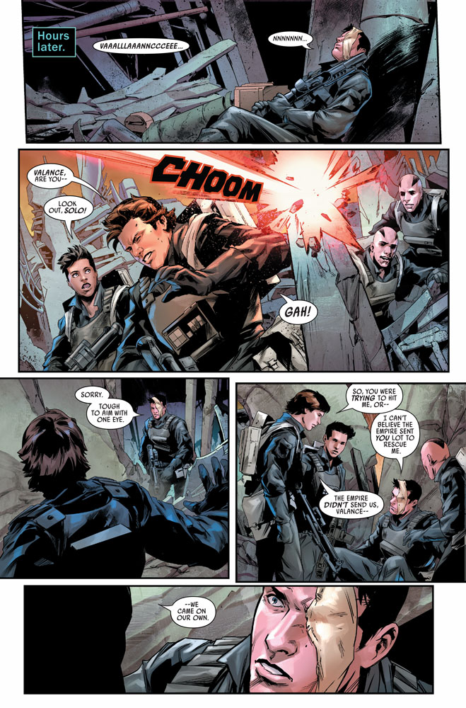 Bounty Hunters #9 preview 6