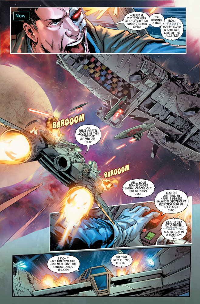 Bounty Hunters #9 preview 7