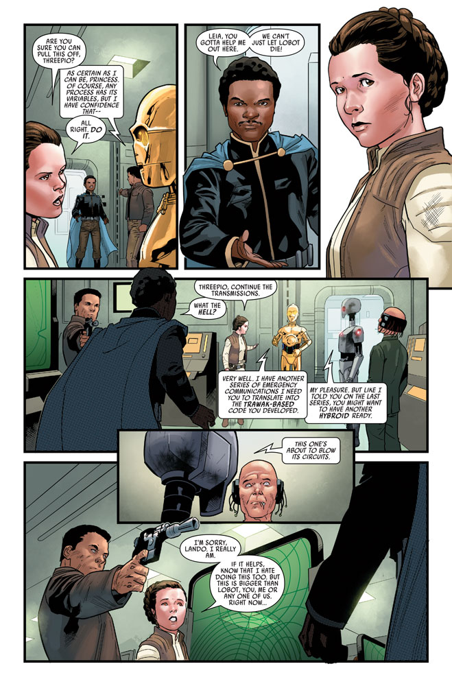 Marvel's Star Wars #11 preview 3