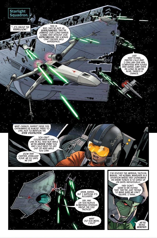 Marvel's Star Wars #11 preview 4