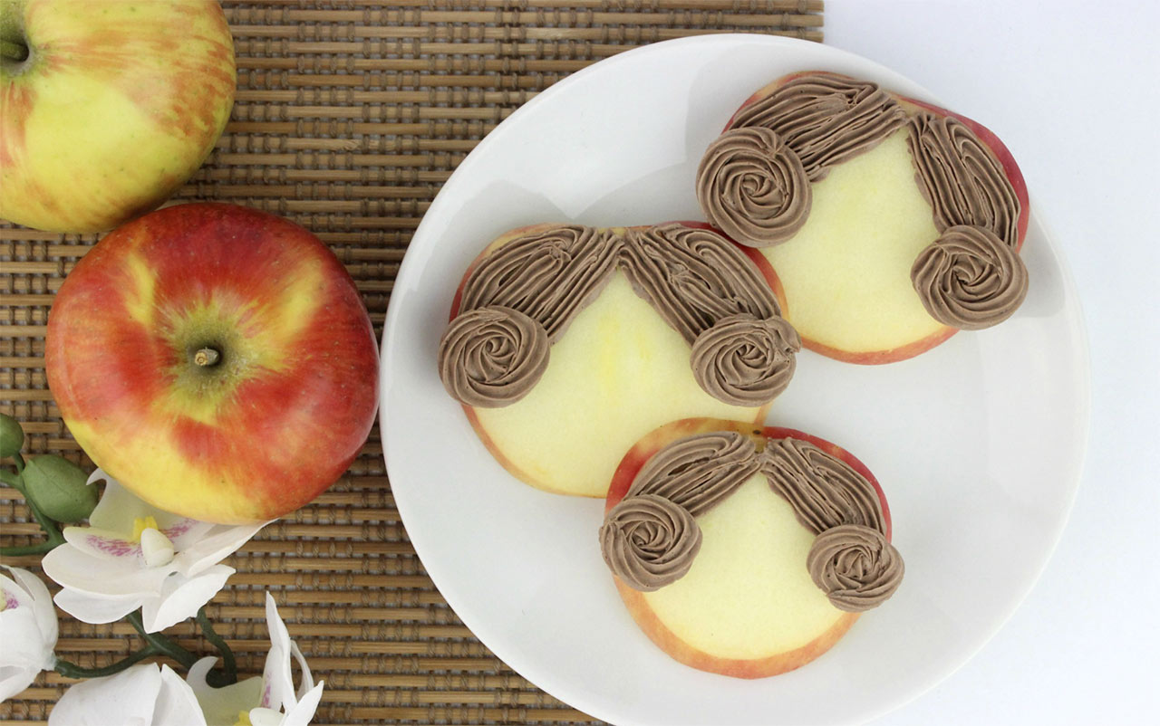 Princess Leia Apple Snacks