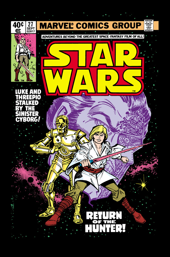 Star Wars #27 cover, 1979