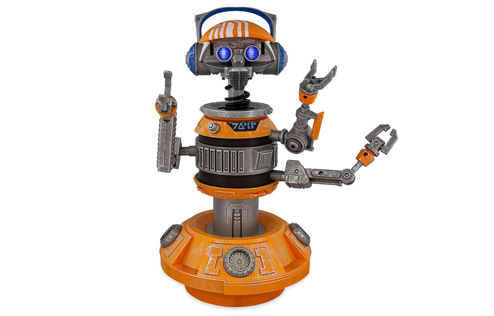 DJ R3X Interactive Remote Control Droid with Bluetooth Speaker – Star Wars: Galaxy's Edge