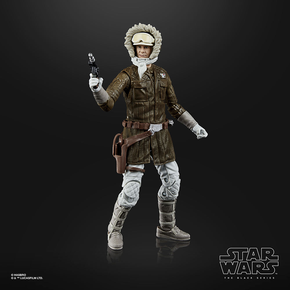 Star Wars The Black Series Han Solo (Hoth) by Hasbro