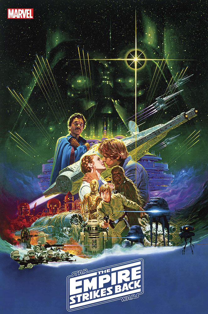 STAR WARS: THE EMPIRE STRIKES BACK THE 40TH ANNIVERSARY COVERS BY CHRIS SPROUSE #1