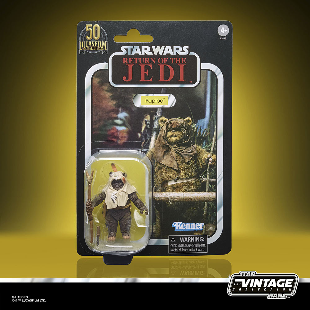 Star Wars The Vintage Collection - Paploo the Ewok box