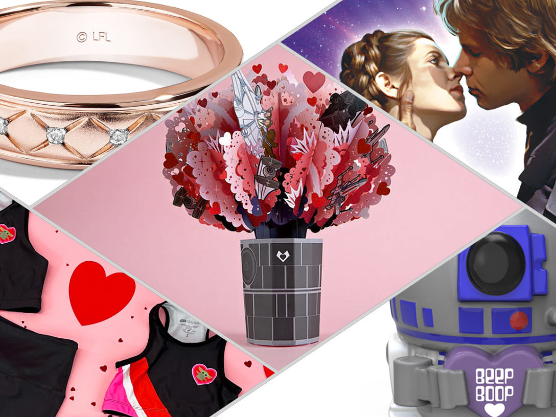 Star Wars Valentine's Day Gift Guide products 2021