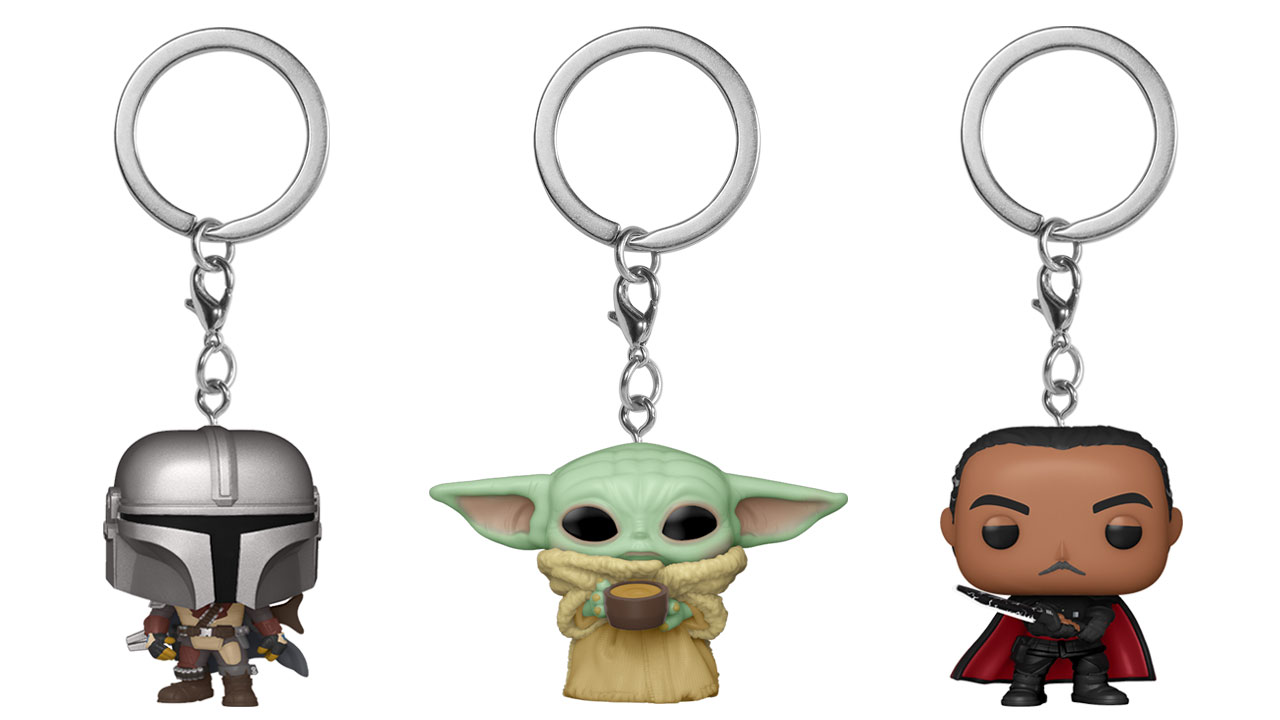 Funko Pop! Star Wars The Mandalorian Keychains