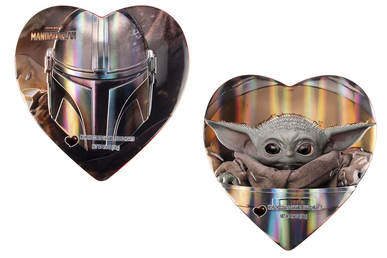 The Mandalorian and The Child Heart Tin from Galerie Candy