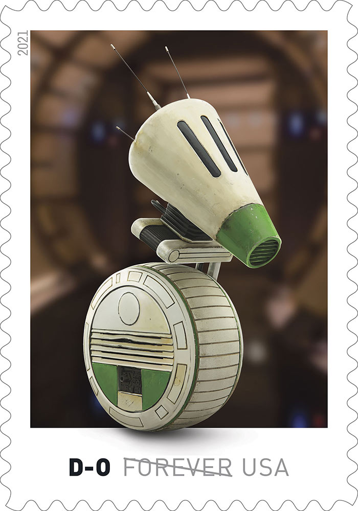 Star Wars stamps - D-O