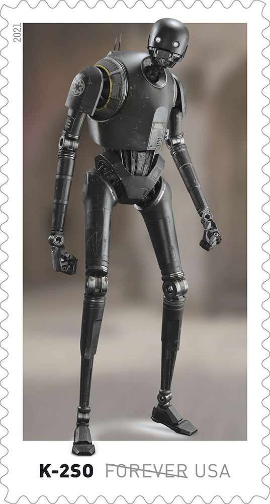 Star Wars stamps - IG-11