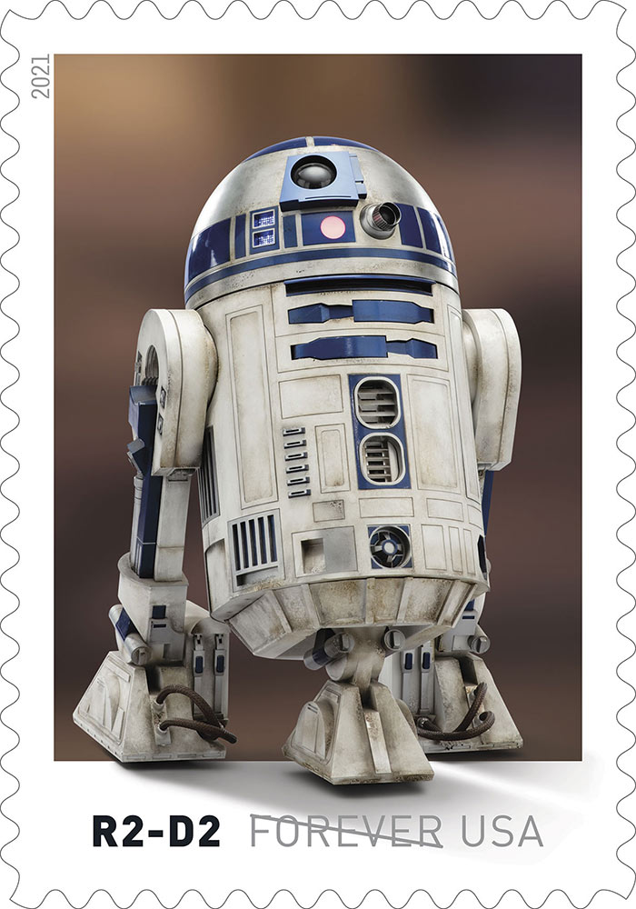Star Wars stamps - R2-D2