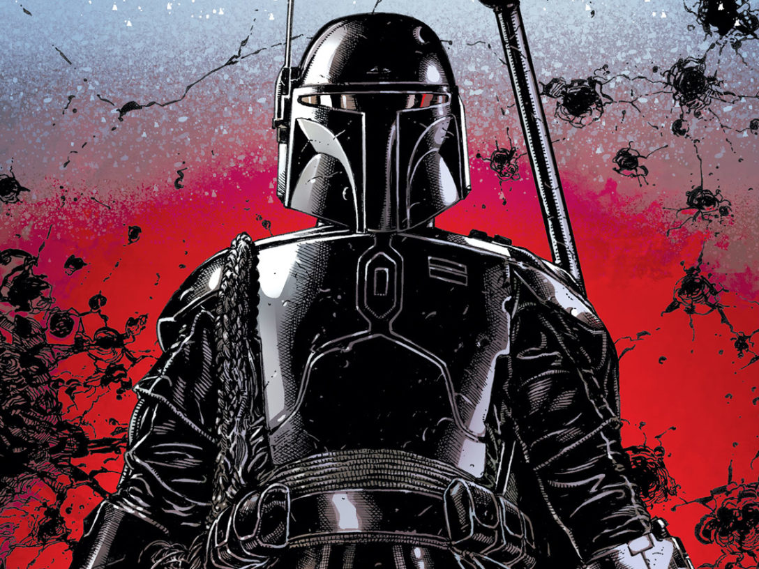 Boba Fett in a teaser from Marvel